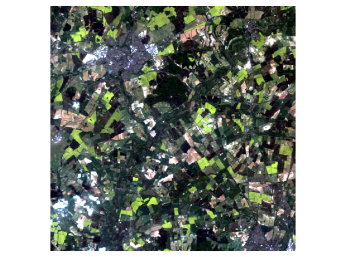 Figure 1: Original Landsat image [Data available from the U.S. Geological Survey].