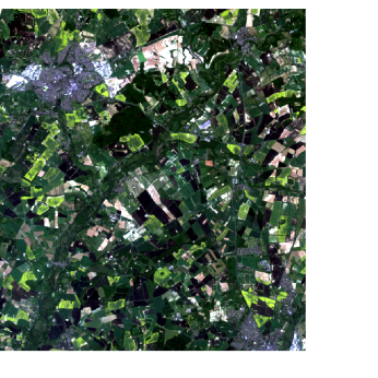 Figure 9: 2013 Landsat image [Data available from the U.S. Geological Survey].